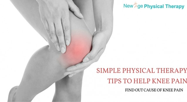 Simple Physical Therapy Tips to Help Knee Pain and Find out Cause of Pain